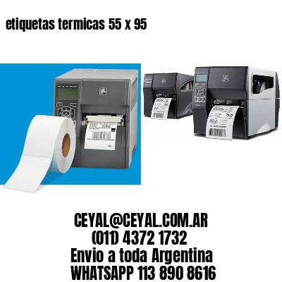 etiquetas termicas 55 x 95