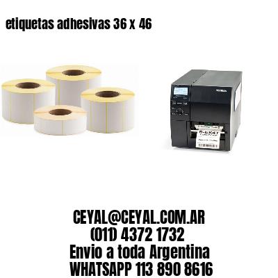 etiquetas adhesivas 36 x 46