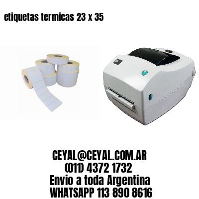 etiquetas termicas 23 x 35