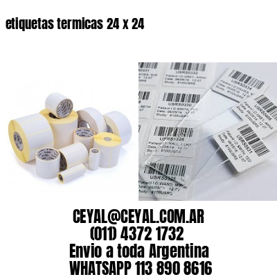 etiquetas termicas 24 x 24
