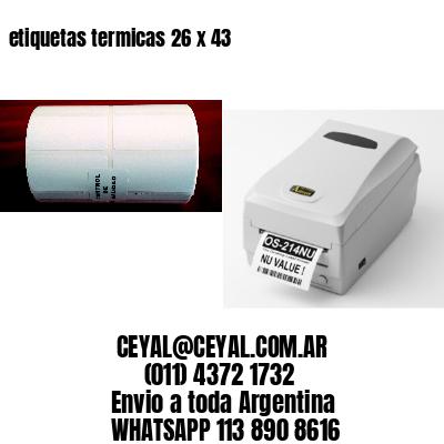 etiquetas termicas 26 x 43