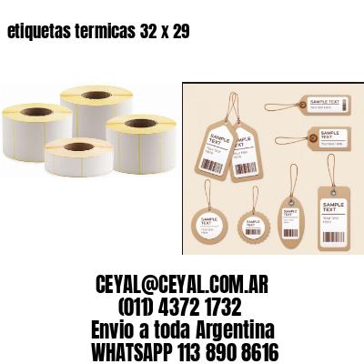 etiquetas termicas 32 x 29