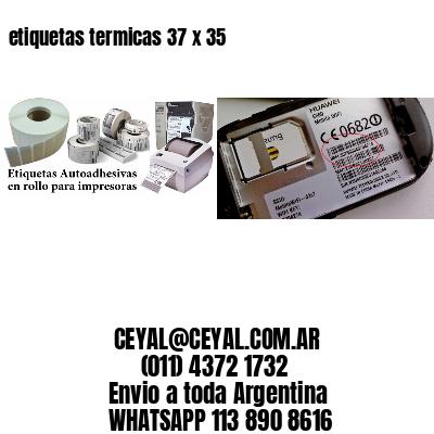 etiquetas termicas 37 x 35
